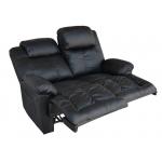 Relaxačná dvojsedačka čierna